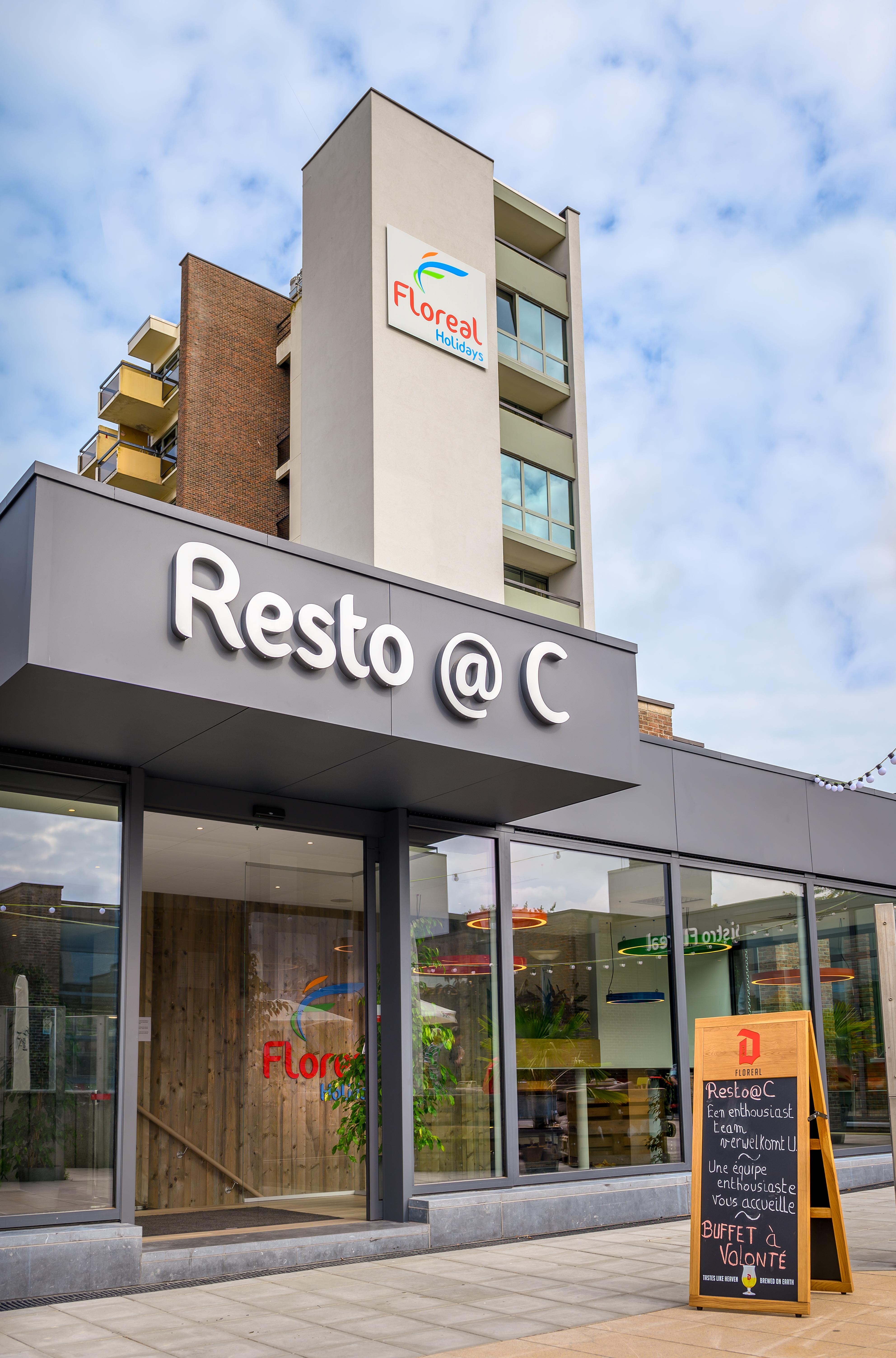 Vooraanzicht Restaurant Resto@C