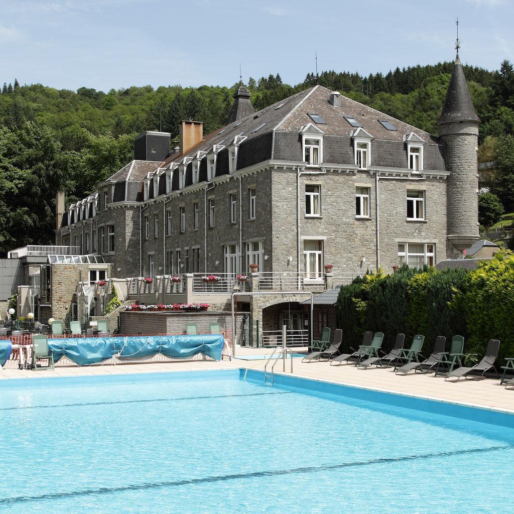 Buitenzwembad Floreal La Roche-en-Ardenne